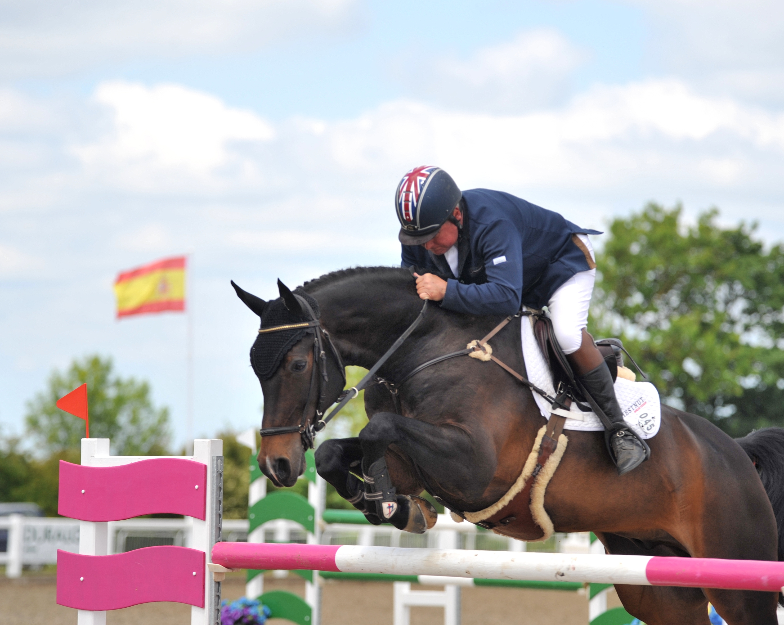 Geoff Billington Arena UK courtesy of Equipics